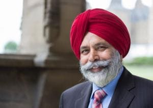 Liberal Party Mp Darshan Kang, who is facing allegations for sexual harassment.