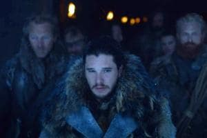 Jon and his merry band of brothers are out to catch a White Walker in Game of Thrones' new episode.