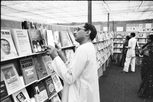 Delhi's first book fair was organised in 1972.