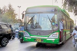 In the first phase, the government will introduce this system in 100 cluster buses and 400 Delhi Transport Corporation (DTC) buses.