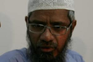 The police have accused Naik of delivering speeches that spread communal discord.