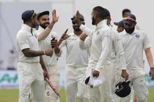 India defeated Sri Lanka by an innings and 171 runs to complete a 3-0 series clean sweep.
