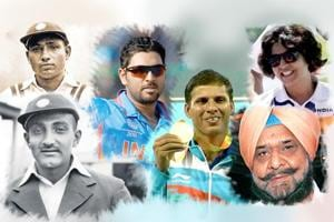 Displaying extraordinary skill and composure, these sportspersons have always kept India's flag flying high.