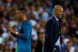Zinedine Zidane frustrated byCristiano Ronaldo's hefty punishment