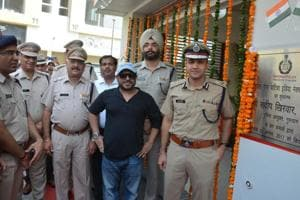 Gurgaon commissioner of police, Sandeep Khirwar, opened the police post for functioning.