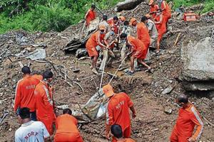 Rescue on at Mandi landslide site, 32 of 46 victims identified