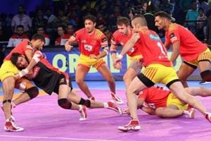 Pro Kabaddi League 2017: Gujarat Fortunegiants beat Bengaluru Bulls...