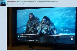 Game of Thrones: HBO Spain airs an hour of episode 6 by mistake