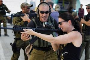 Photos: Israeli firm offers 'anti-terrorism adventure' to tourists