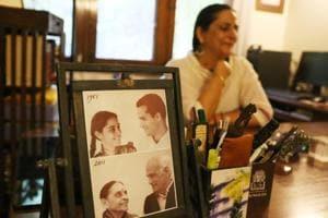 Delhiwale: Inside Leila Seth's study