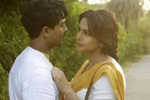 Huma Qurshi and Manish Dayal's love-story is a side track in Partition 1947.