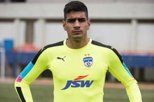 Gurpreet Singh Sandhu, Indian football team goalkeeper, signs for...