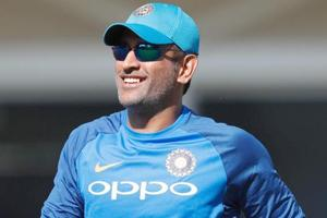 MS Dhoni in focus at training as India gear up for ODI series vs Sri...