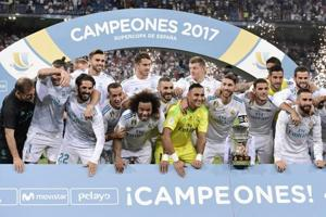Real Madrid crush Barcelona to win Spanish Super Cup