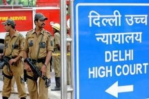 Delhi High Court premises searched after hoax bomb call, cops look for...