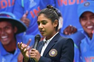 Mithali Raj led India to the final of the 2017 ICC Women's World Cup last month, with her final losing a tense final to England.