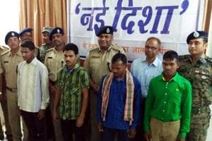 Four Maoist guerillas surrender in Lohardaga