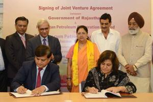 Rajasthan, HPCL ink joint venture agreement for Barmer oil refinery