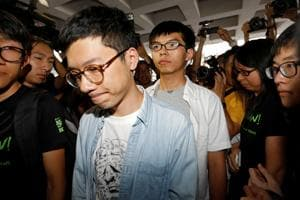 Hong Kong has political prisoners, activists say after 3 students...