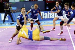 Pro Kabaddi League: Dabang Delhi secure 2nd win, beat Tamil Thalaivas
