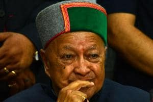 CM Virbhadra Singh struggles to retain his hold on poll-bound Himachal...