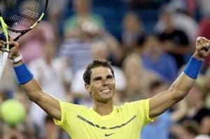 Rafael Nadal cruises in Cincinnati Masters opener, Angelique Kerber...