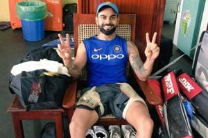 This day, that chair: Virat Kohli finds his debut 'seat' ahead of...
