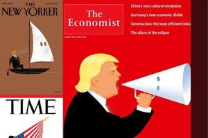 No cover for Trump: Time, Economist, New Yorker open fire over white...
