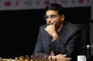 Viswanathan Anand stays joint eighth in St Louis blitz tournament
