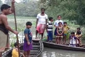 Floodwaters recede in Assam, but toll jumps to 60