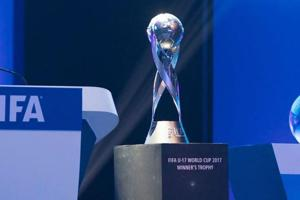 FIFA U-17 WC trophy experience to kick off in New Delhi tomorrow