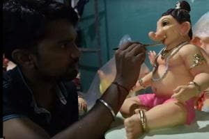 Ganpati workshops in Mumbai: Where youngsters try to carve a niche