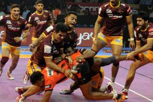 Pro Kabaddi League: U Mumba beat UP Yoddha in thrilling encounter