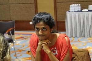 Harika Dronavalli loses to Bogdan-Daniel Deac, but stays in contention
