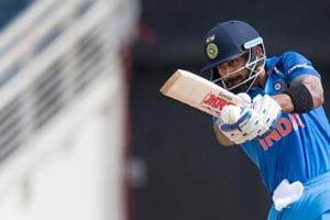 Indian cricket team captain Virat Kohli is the only Indian in the top 10 of the ICC ODI batsmen's ranking with former skipper MS Dhoni (12th), Shikhar Dhawan (13th) and vice- captain Rohit Sharma (14th) falling in the top 15 bracket.
