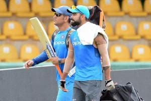 Virat Kohli, MS Dhoni practice hard as India eye ODI domination...