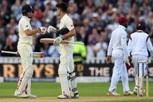 Joe Root hails 'ruthless' England after first day-night Test vs West...