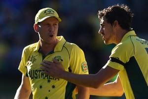 Cricket Australia recalls James Faulkner for ODIs v India; Mitchell...