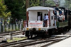 Mosquito terminator train to cover Delhi in eight days