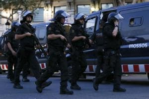 'Four suspected terrorists' shot dead in south of Barcelona: Police