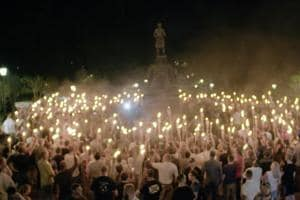 Why hate came to the progressive island of Charlottesville in Virginia...