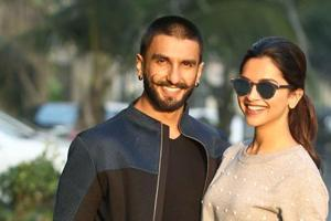 Deepika Padukone and Ranveer Singh spotted a day after viral kissing...