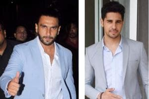 Ranveer  Singh and Sidharth Malhotra are giving  us major style goals.