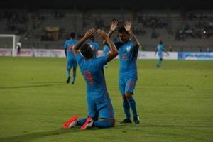 India score come-from-behind victory vs Mauritius in tri-nation...