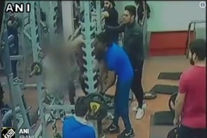 Caught on cam: Indore man punches, kicks woman in gym for resisting...