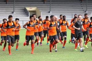 Live streaming of India vs Mauritius, tri-nation football series:...