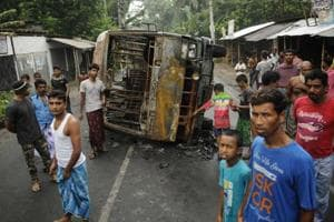 Communal violence scorched Basirhat  and Baduria areas in West Bengal's North 24 Parganas district  early July after an offensive Facebook post.