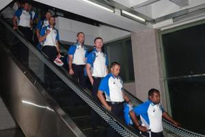 Australia cricket team arrives in Bangladesh amid tight security