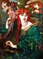 La Ghirlandata by Dante Gabriel Rossetti (1828-1882)