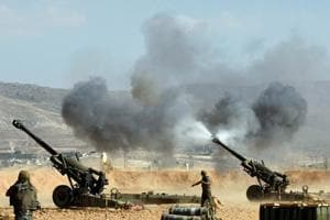 Lebanese army attack Islamic State on Syria border